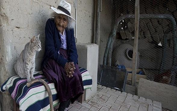 Julia la mujer más longeva del mundo