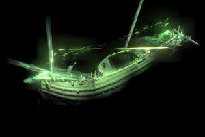 Barco de hace 500 años