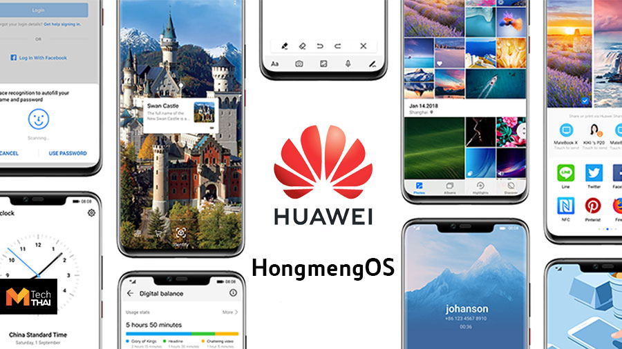 Huawei Technologies. Hongmeng es mejor que Android y macOS ?