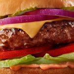 Hamburguesa de carne vegetal
