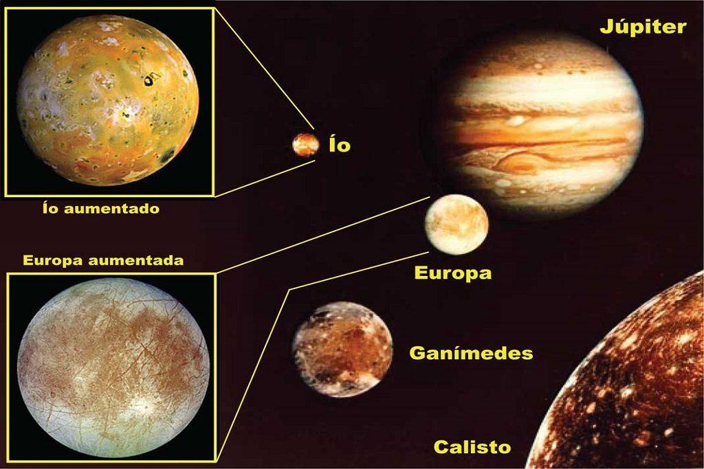 Sal de mesa en una de las lunas de Júpiter