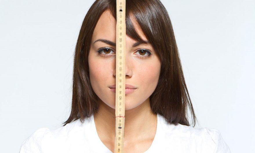estatura de la mujer