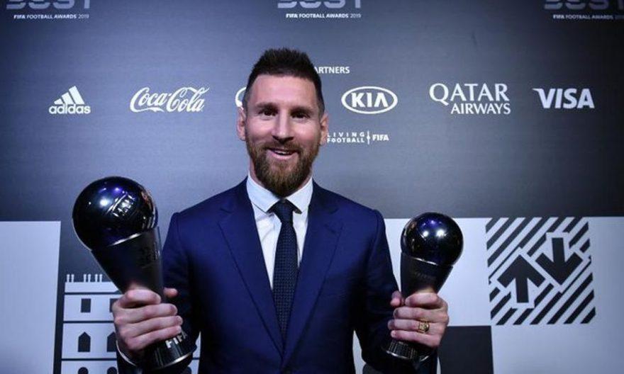 The Best de la FIFA 2019: Lionel Messi gana el mejor jugador masculino del año