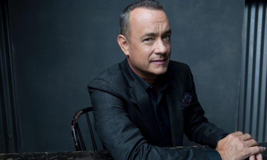 Tom Hanks en los Globos de Oro 2020