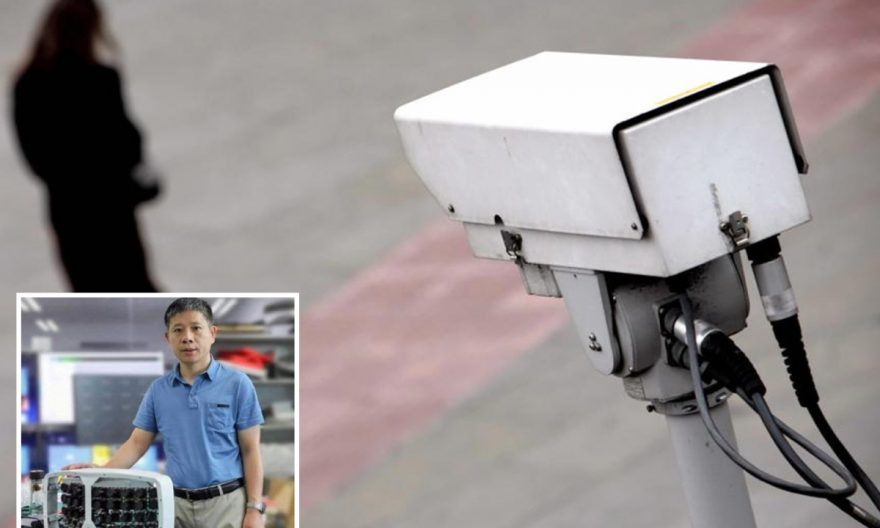 China ha utilizado la controvertida cámara en centros comerciales y aeropuertos.
