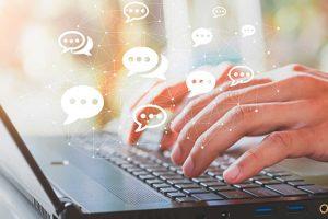 Compras en línea o comercio online