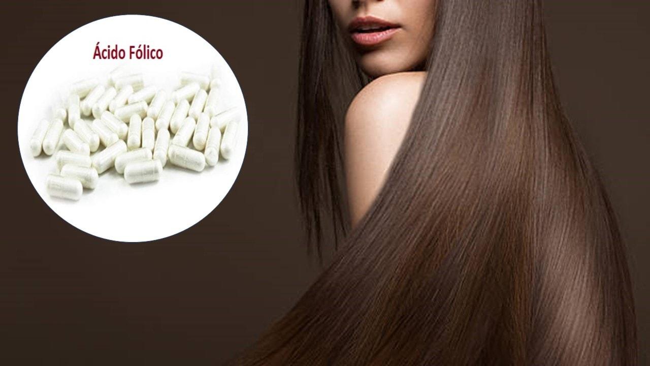 Ácido fólico para un cabello hermoso