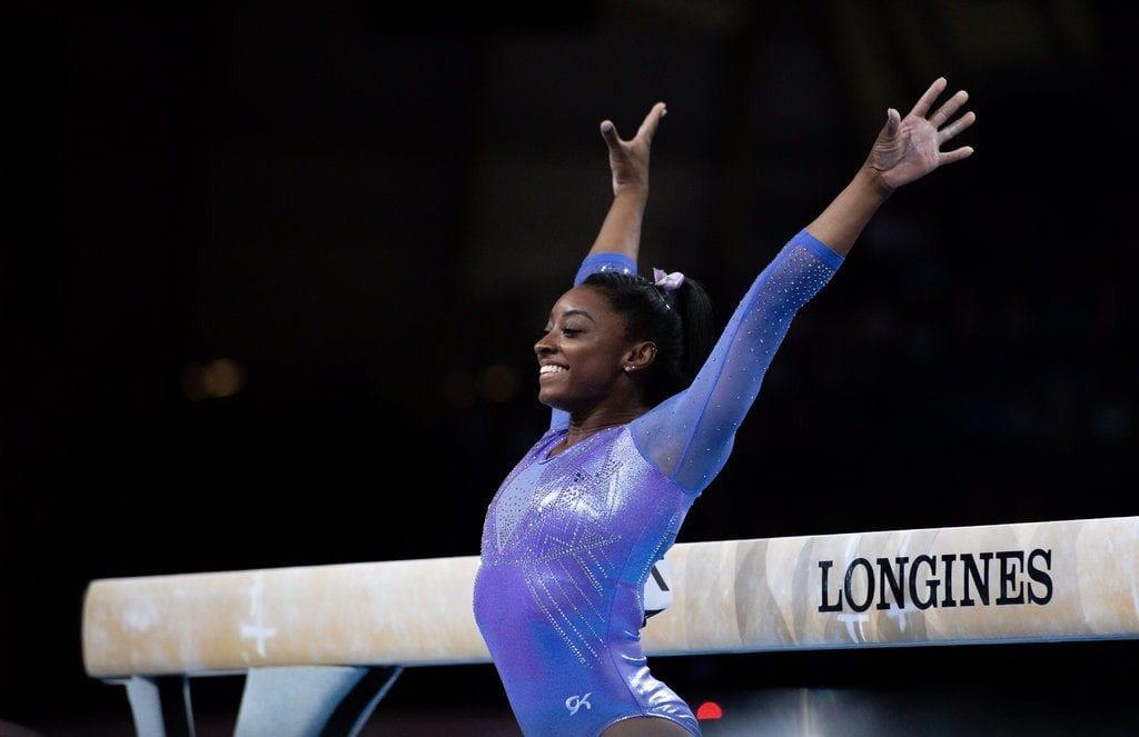 Simone Biles se convierte en la gimnasta con más medallas en Campeonatos Mundiales