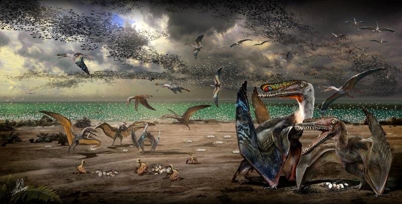 Nuevo pterosaurio «dragón de hierro»