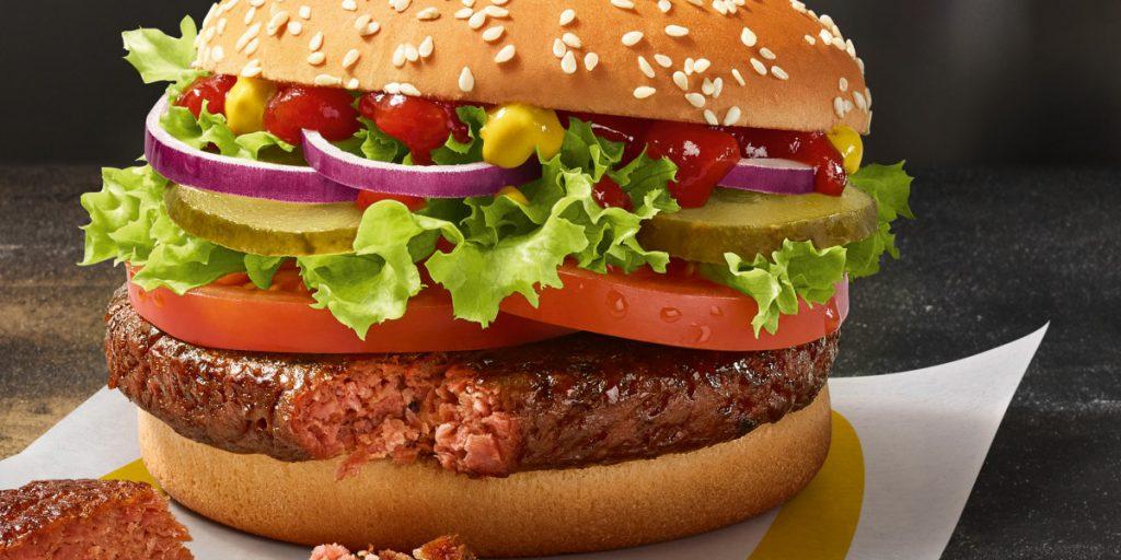 McDonald's prueba hamburguesas