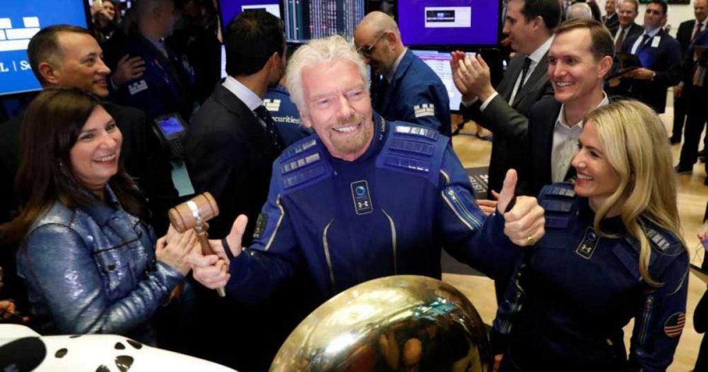 Turismo espacial. El multimillonario británico Sir Richard Branson