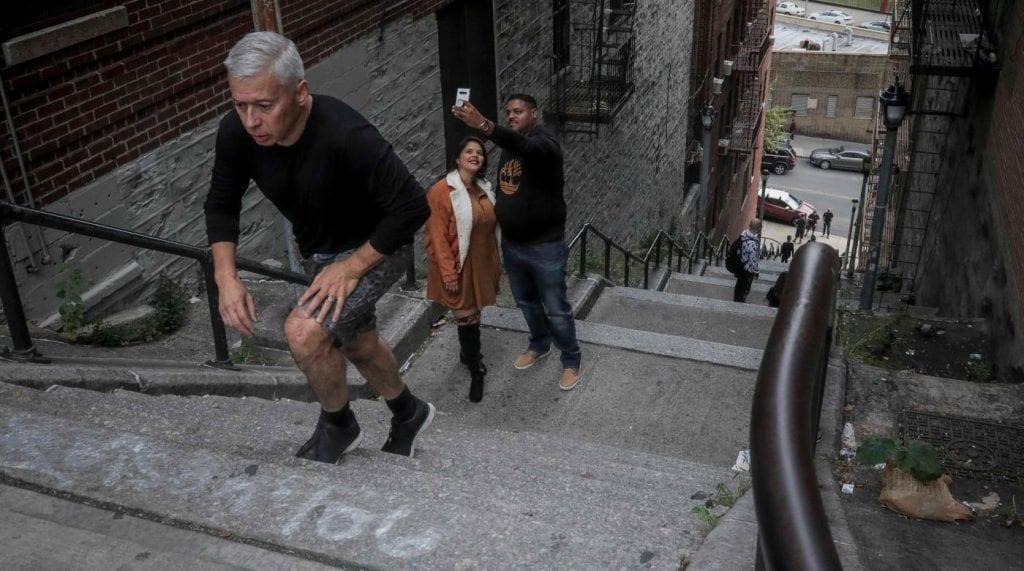 Escaleras de Joker en Nueva York