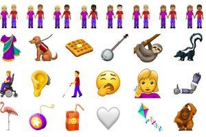 Nuevos diseños de emojis