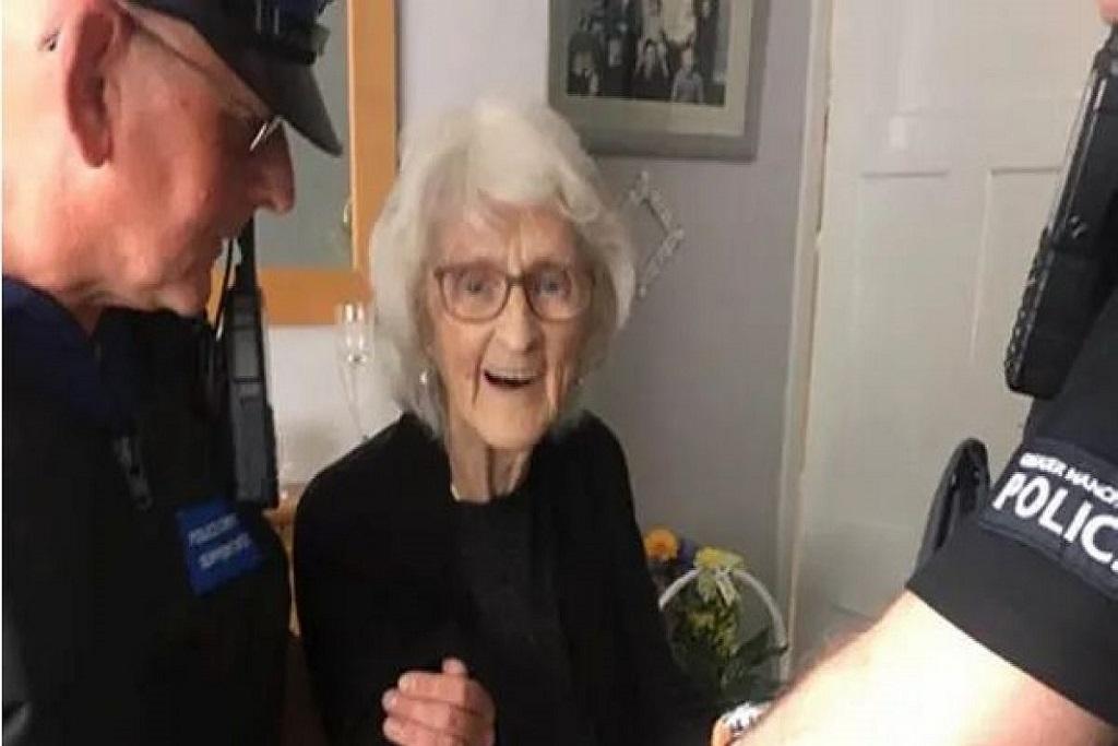 Anciana arrestada