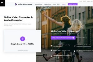 Wondershare UniConverter online media converter