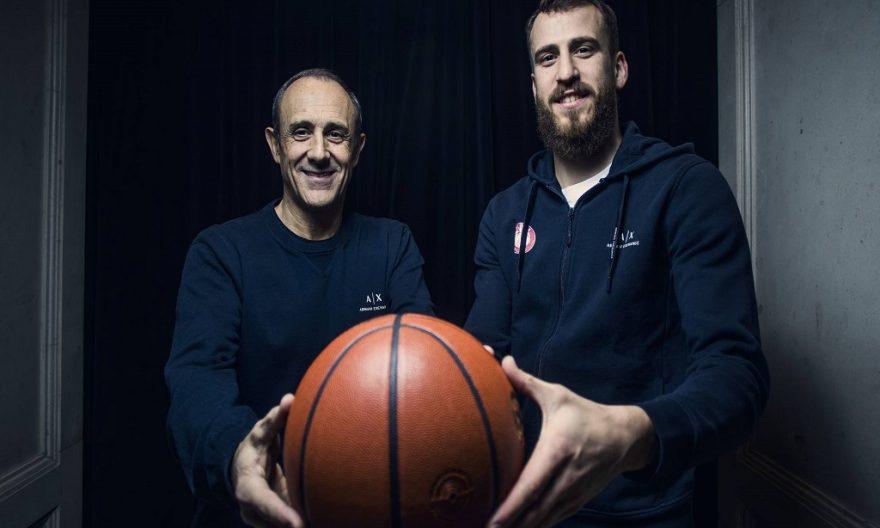 Sergio Rodríguez y Ettore Mesina