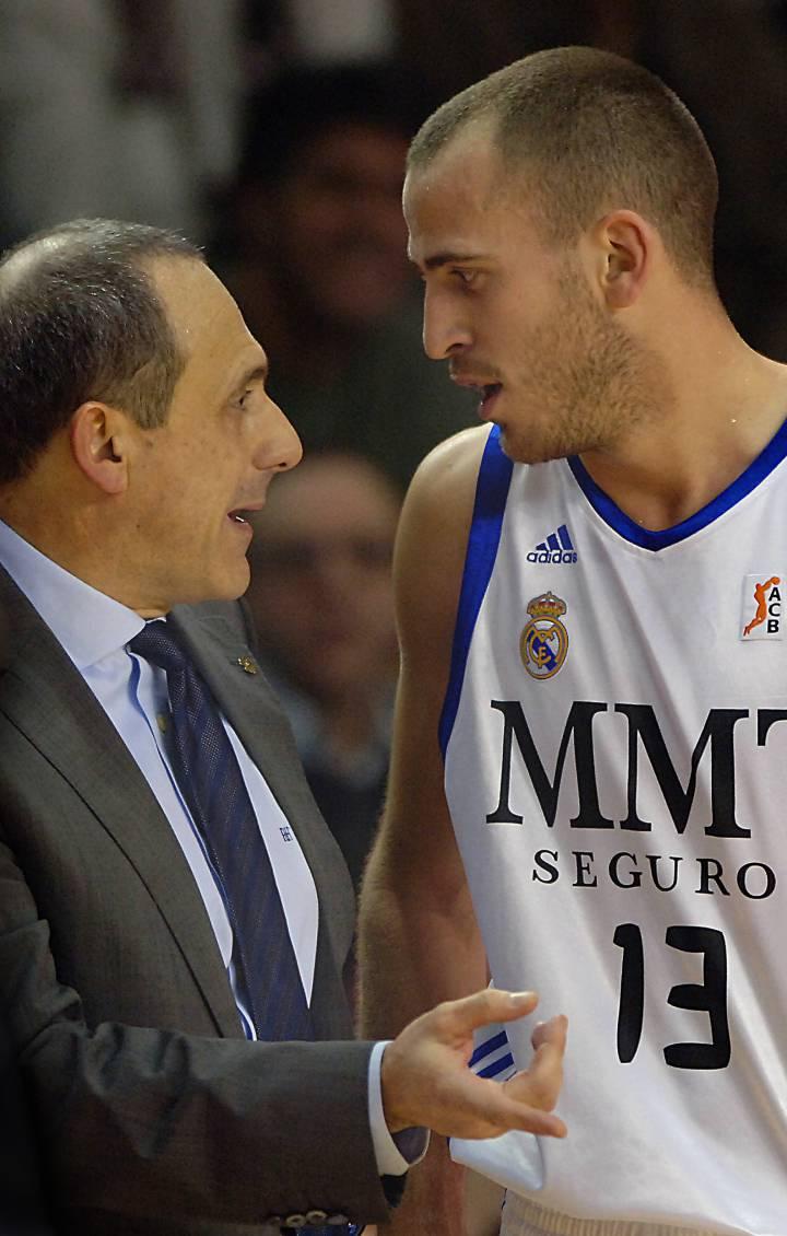 Mesina y Sergio Rodriguez en 2010
