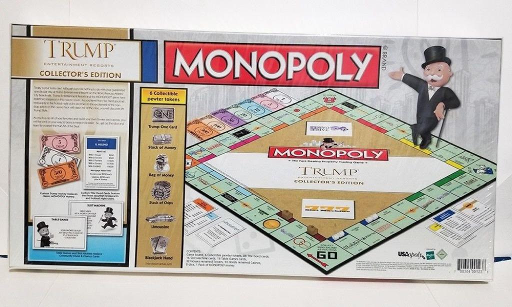Tableros de monopolio de edición limitada