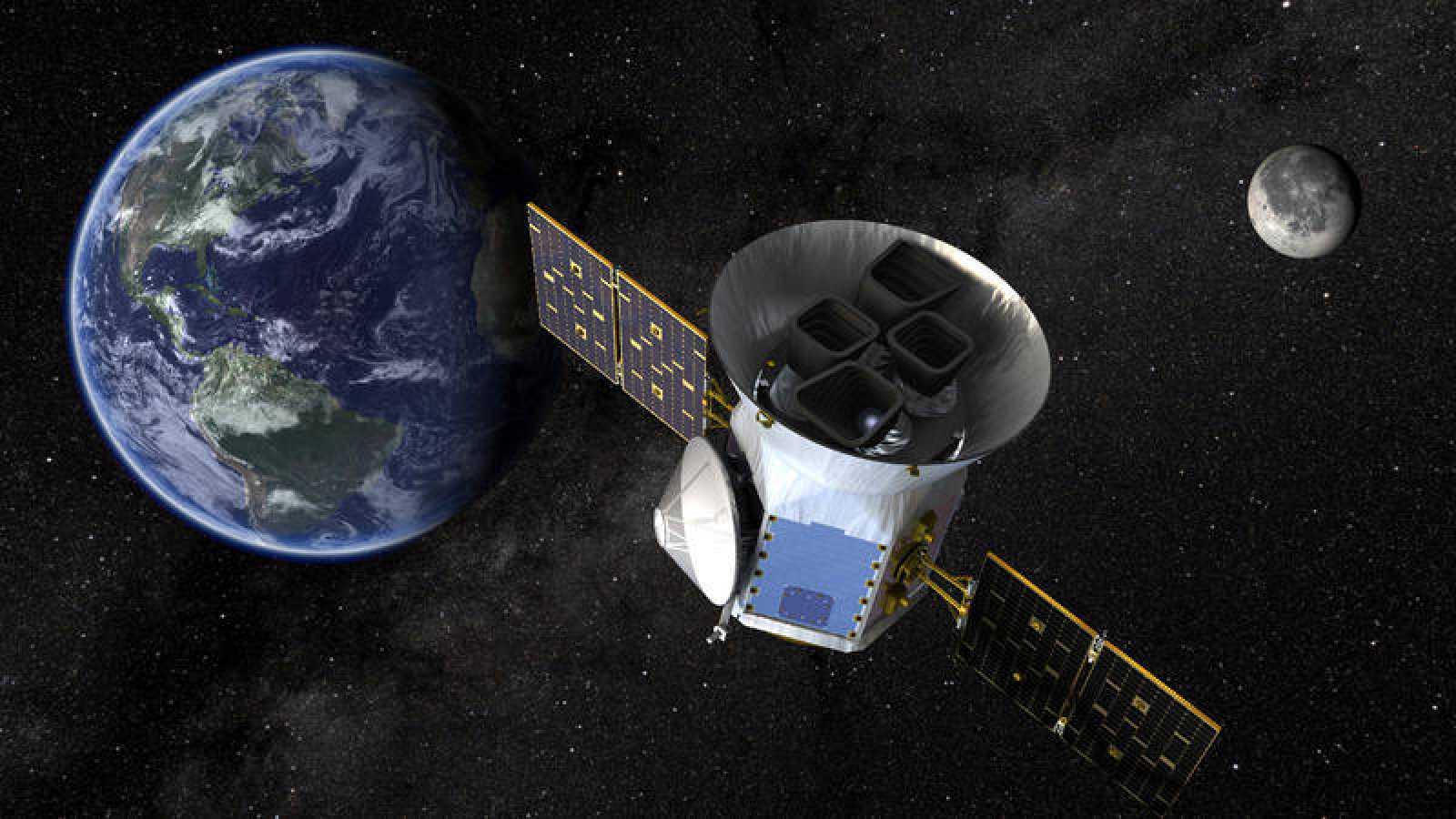 Los satélitexs de SpaceX