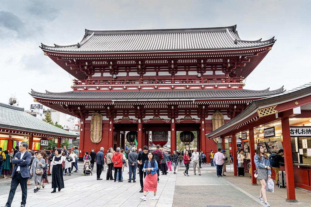 Templo Budista Sensoji en Asakusa