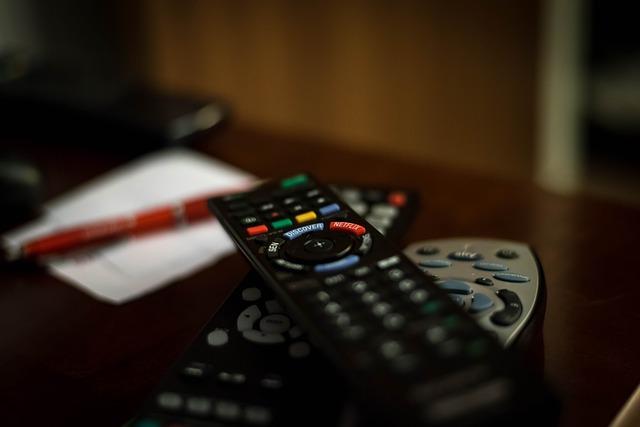 Controles remotos de televisión