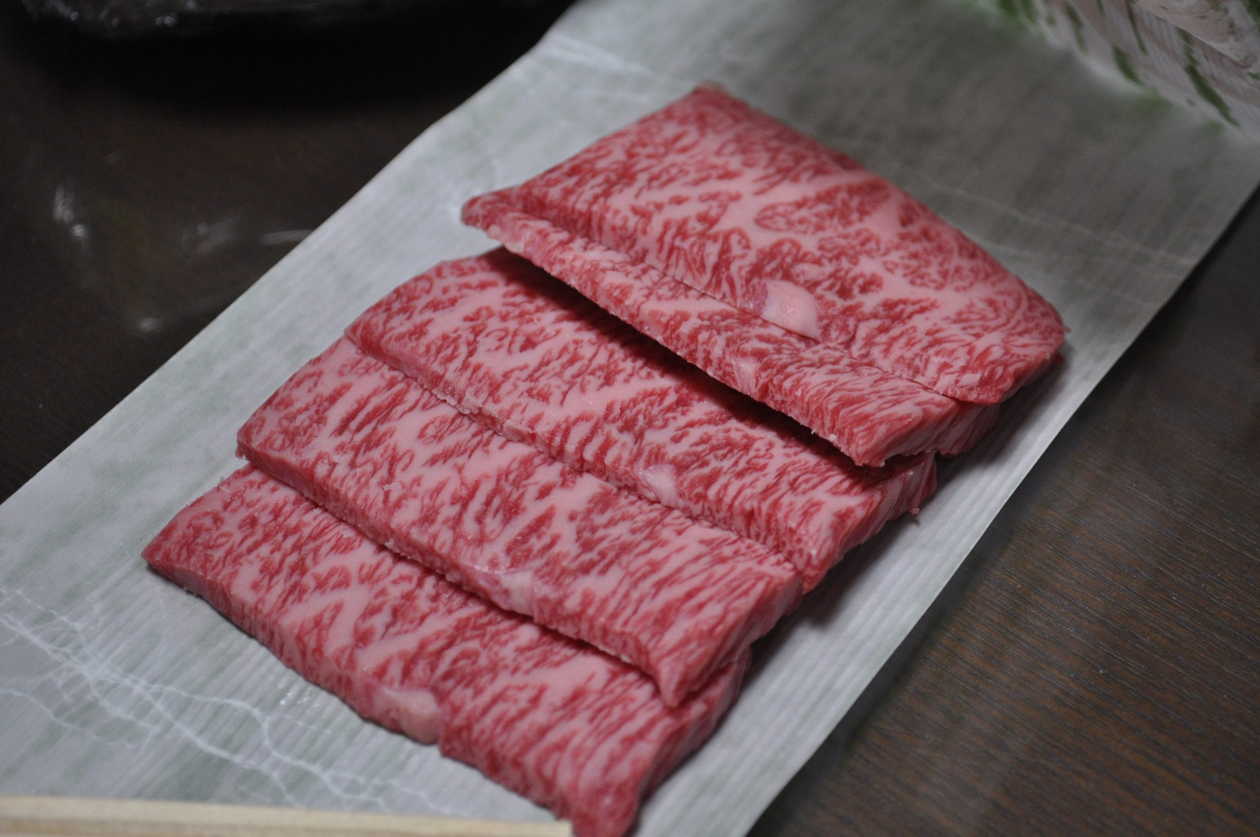Filete de res Ohmi gyu, Japón