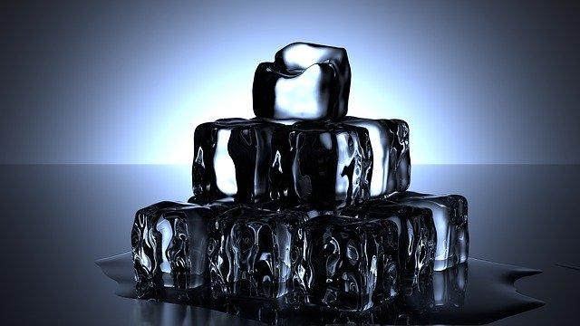 Los cubos de hielo