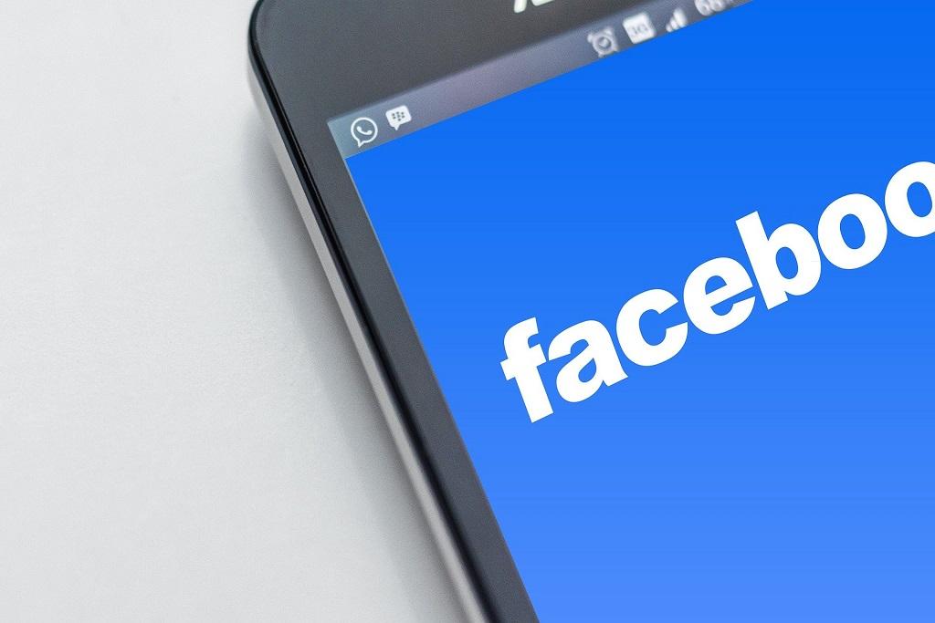barra de herramientas de Facebook