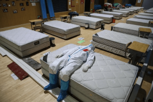 China cierra hospital temporal