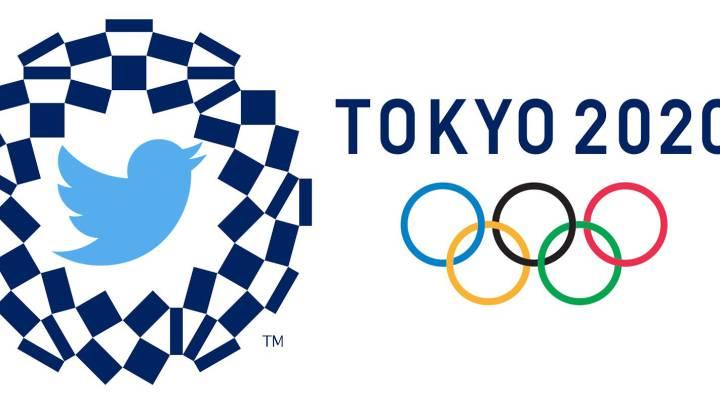 juegos olímpicos 2020 en tokio su logo y el de las redes sociales