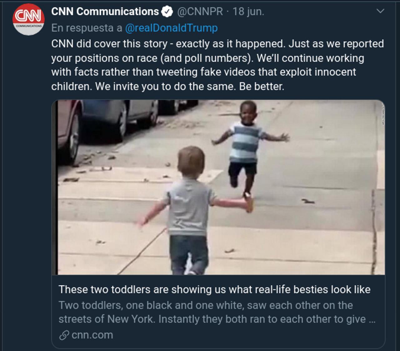 CNN deja mal parado a Donald Trump