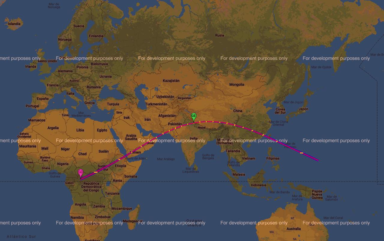 Un mapa interactivo para saber cómo ver el eclipse
