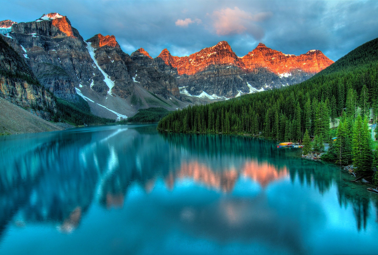 El Parque Banff, el más antiguo de Canadá