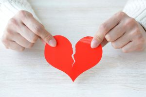 test de corazón roto
