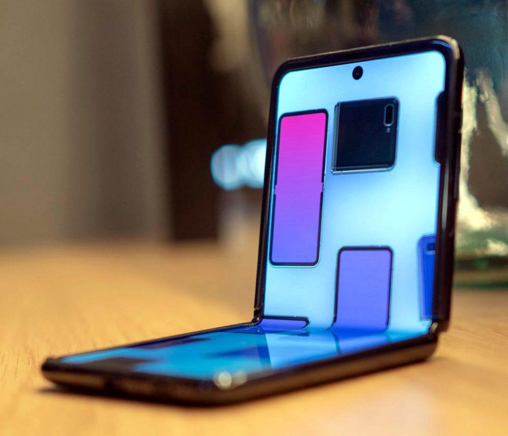 La evolución del celular flexible de Samsung, el Flip Z y Fold 2