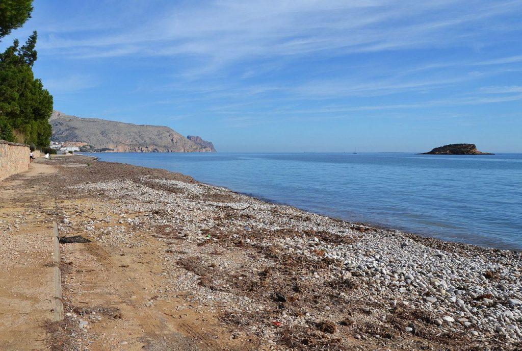 Las calas de Altea, joyas entre las playas en Alicante