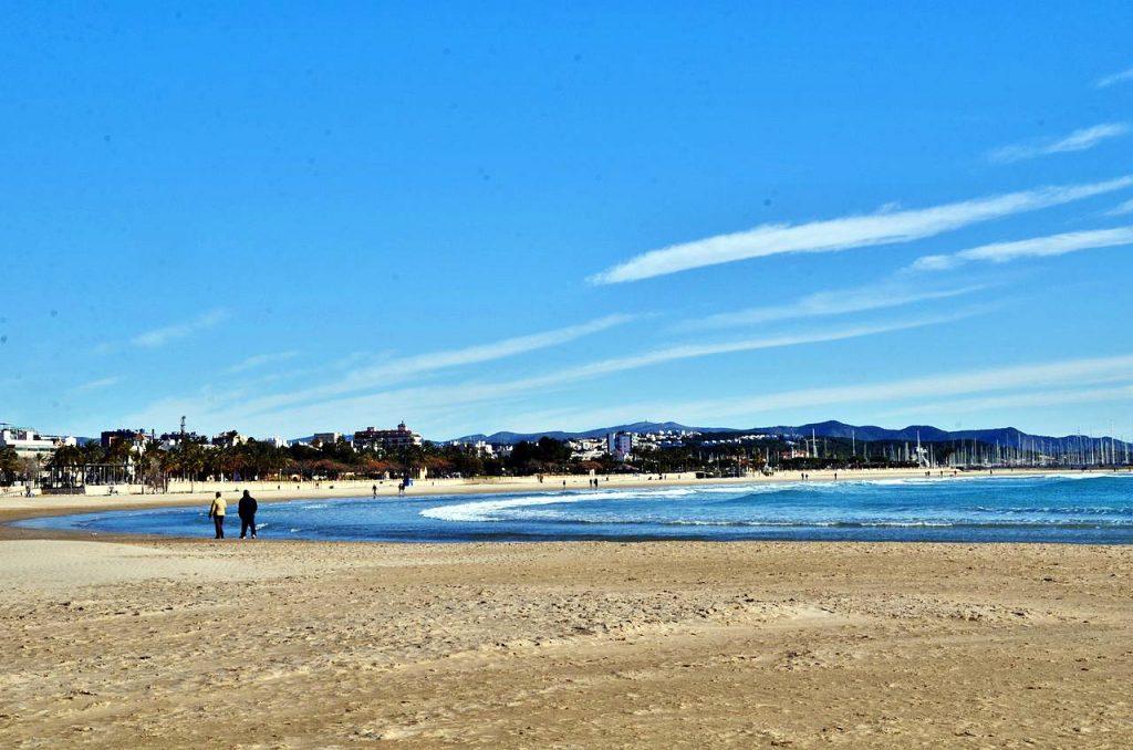 Más playas de Barcelona, la urbana Ribes Roges