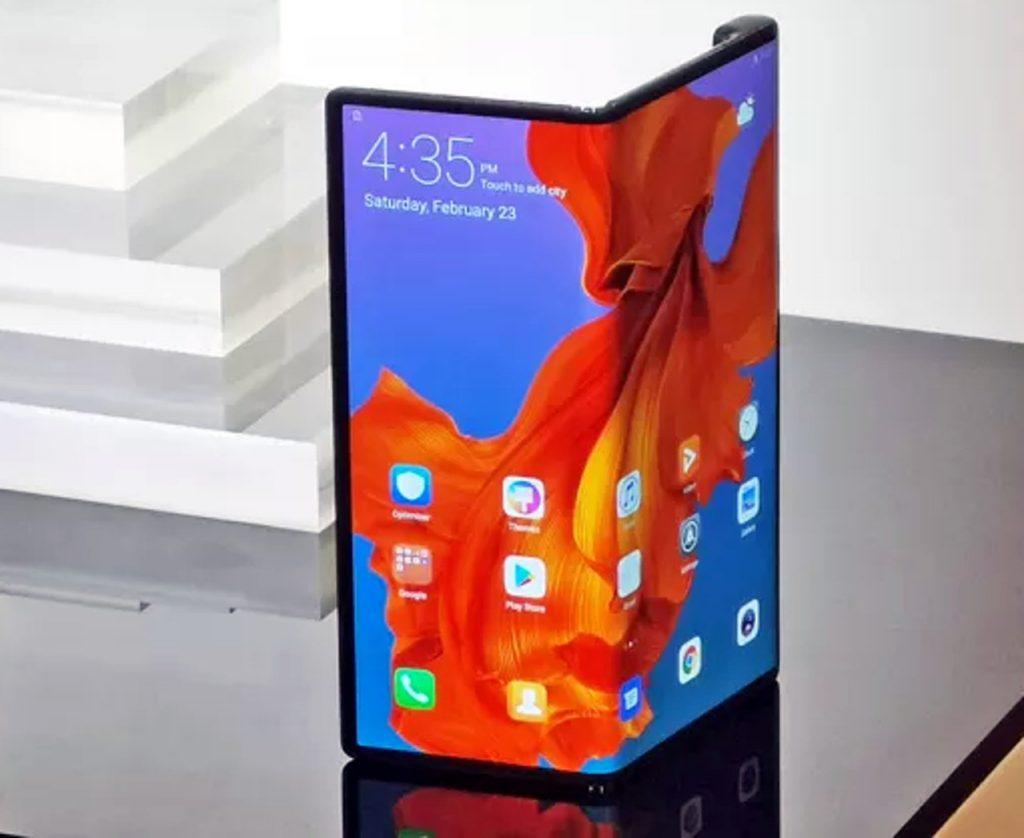 Mate X, el celular que se dobla de Huawei