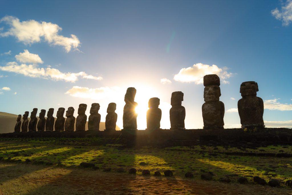Lugares remotos del mundo: La casa de los Moais