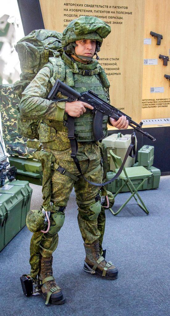 La guerra del futuro: soldados con exoesqueletos