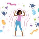 sistema inmune de mujer