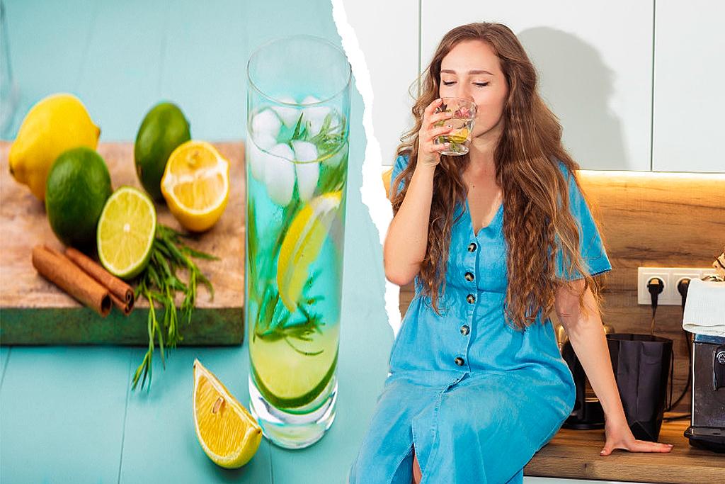 Toma esta Agua solo 1 Vez al día y podrás Bajar de peso de forma Natural(1)
