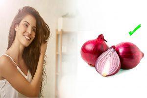Alucinantes beneficios de la cebolla morada para combatir las cana y la caída del pelo