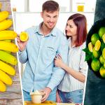 Limón con plátano batido para combatir el cansancio crónico y la anemia