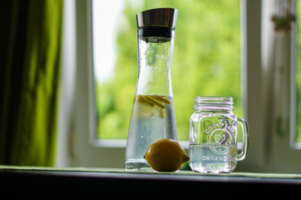 Bebe abundante agua en invierno 1