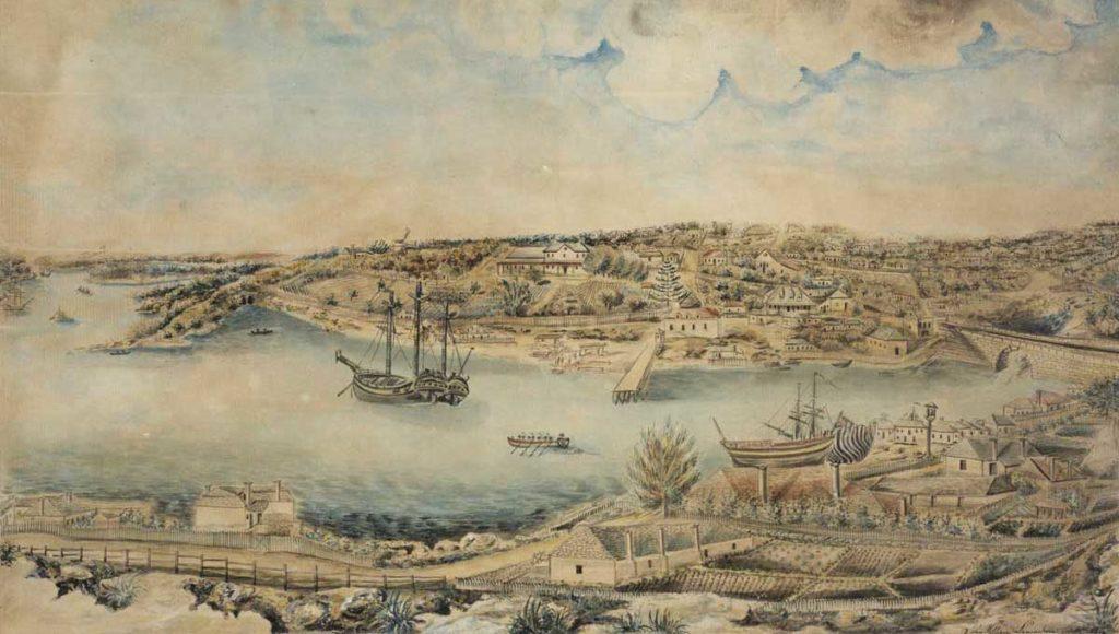Primera colonia de Sydney