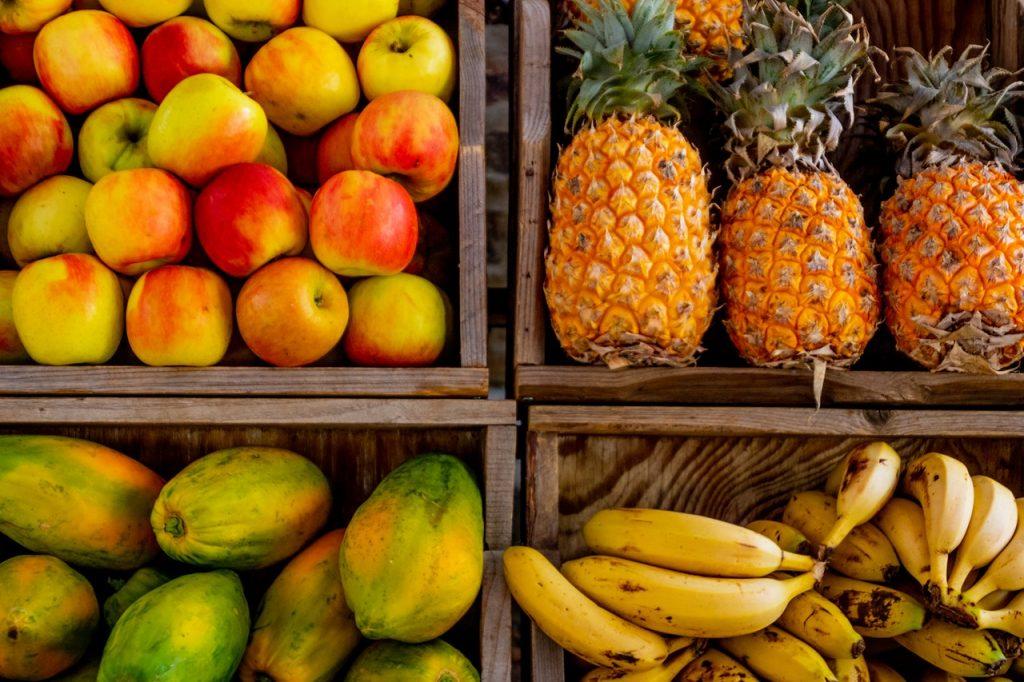 Estados de las frutas