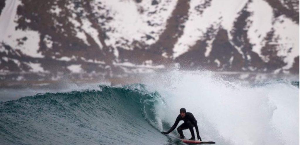 Surf glaciar extremo 6