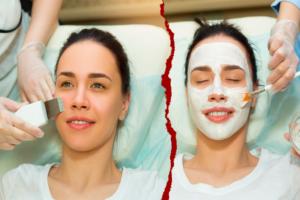 beneficios de la limpieza facial