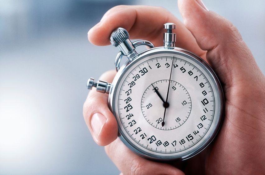 Establecer tiempos límite